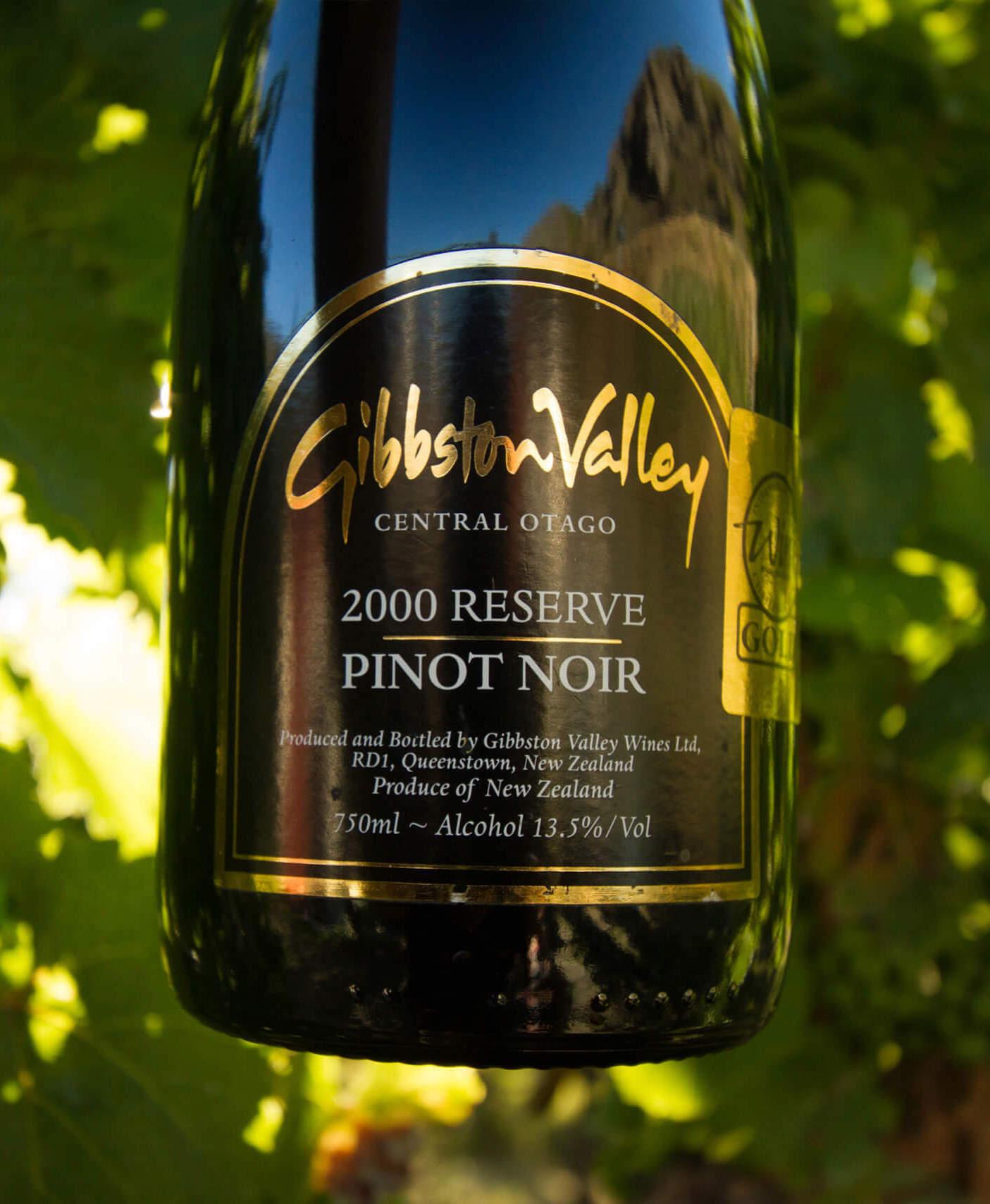 Gibbston Valley Reserve Pinot Noir.