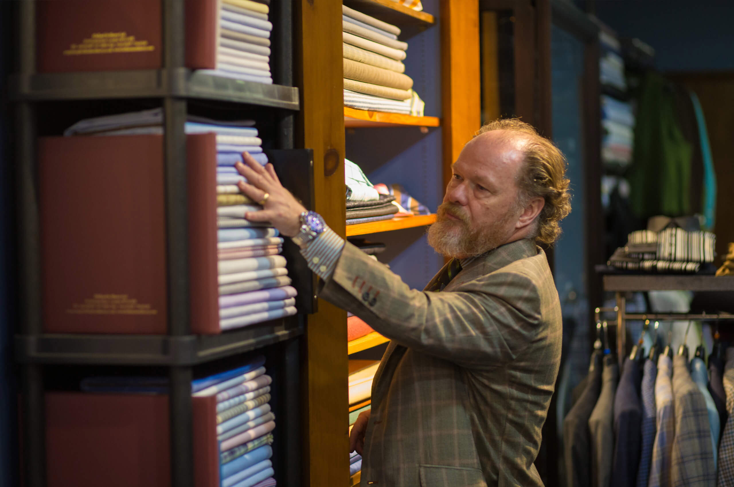 Antonio Salgado, the owner of the custom clothier – House of Salgado.
