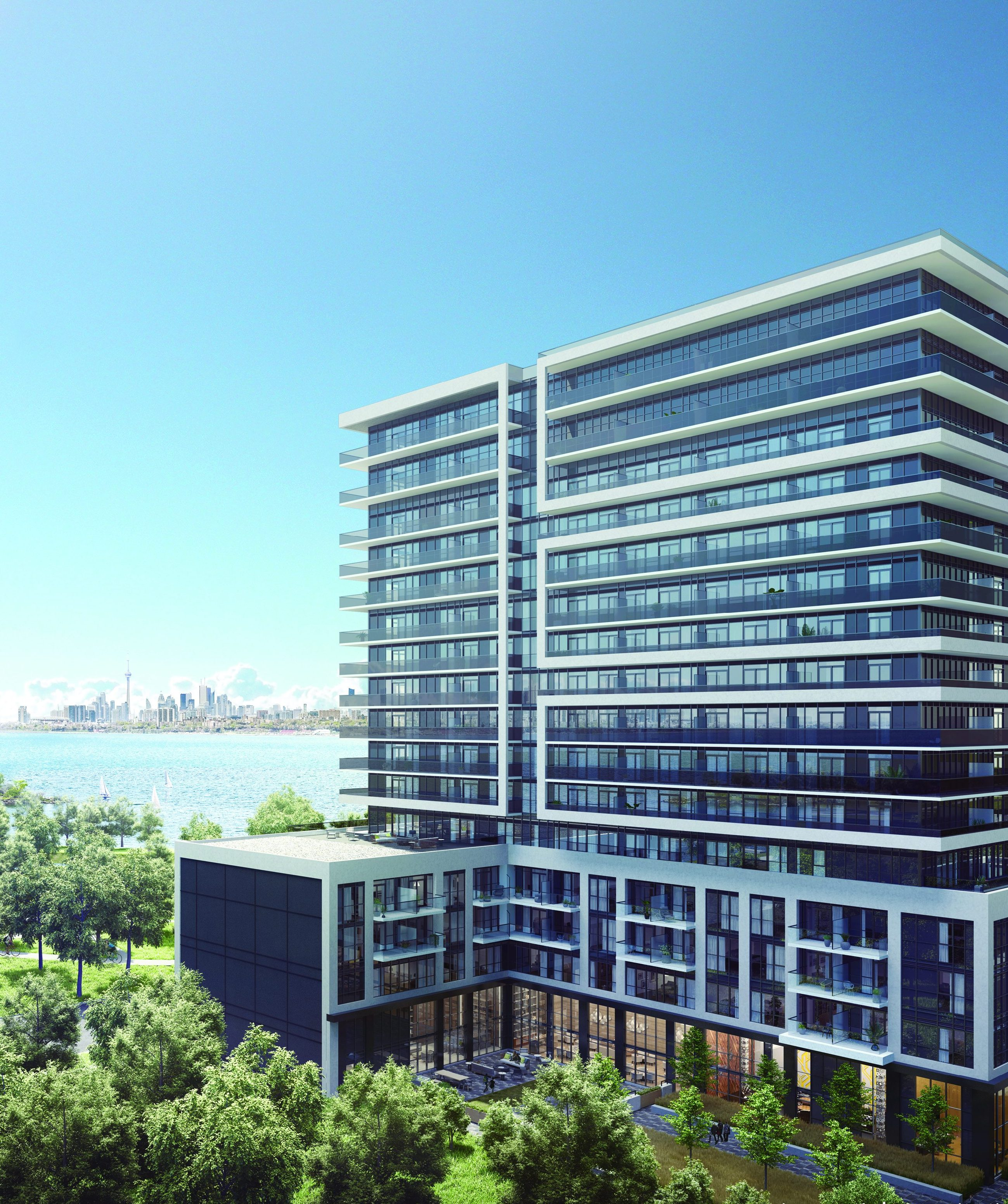 A waterfront lifestyle Vita Two in Etobicoke.