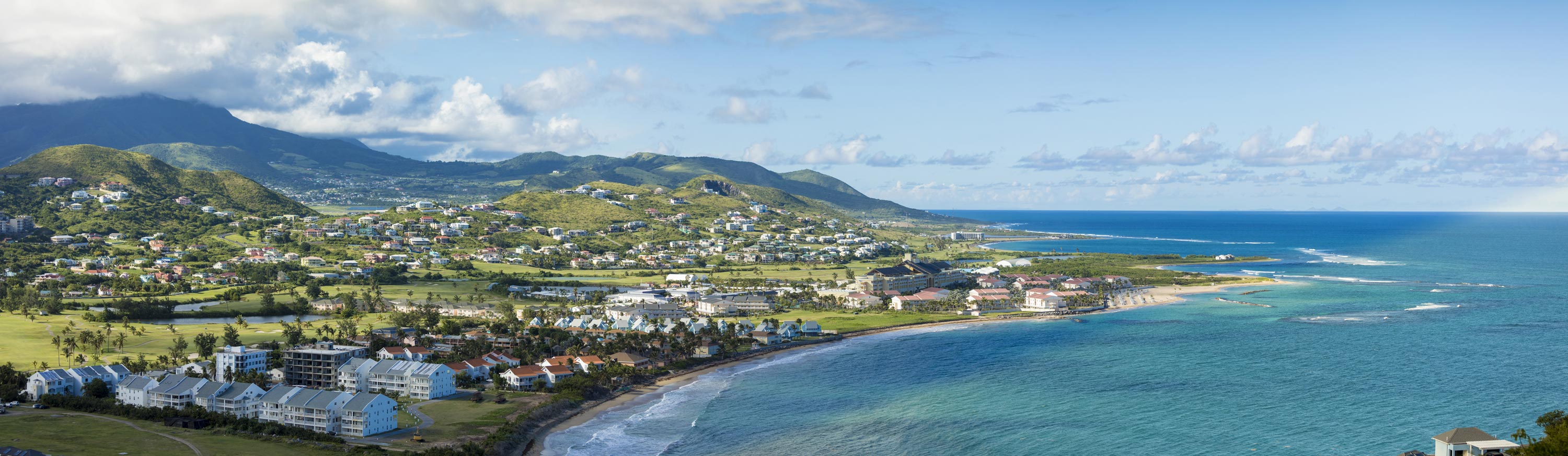 A view on the luxury destination St. Kitts