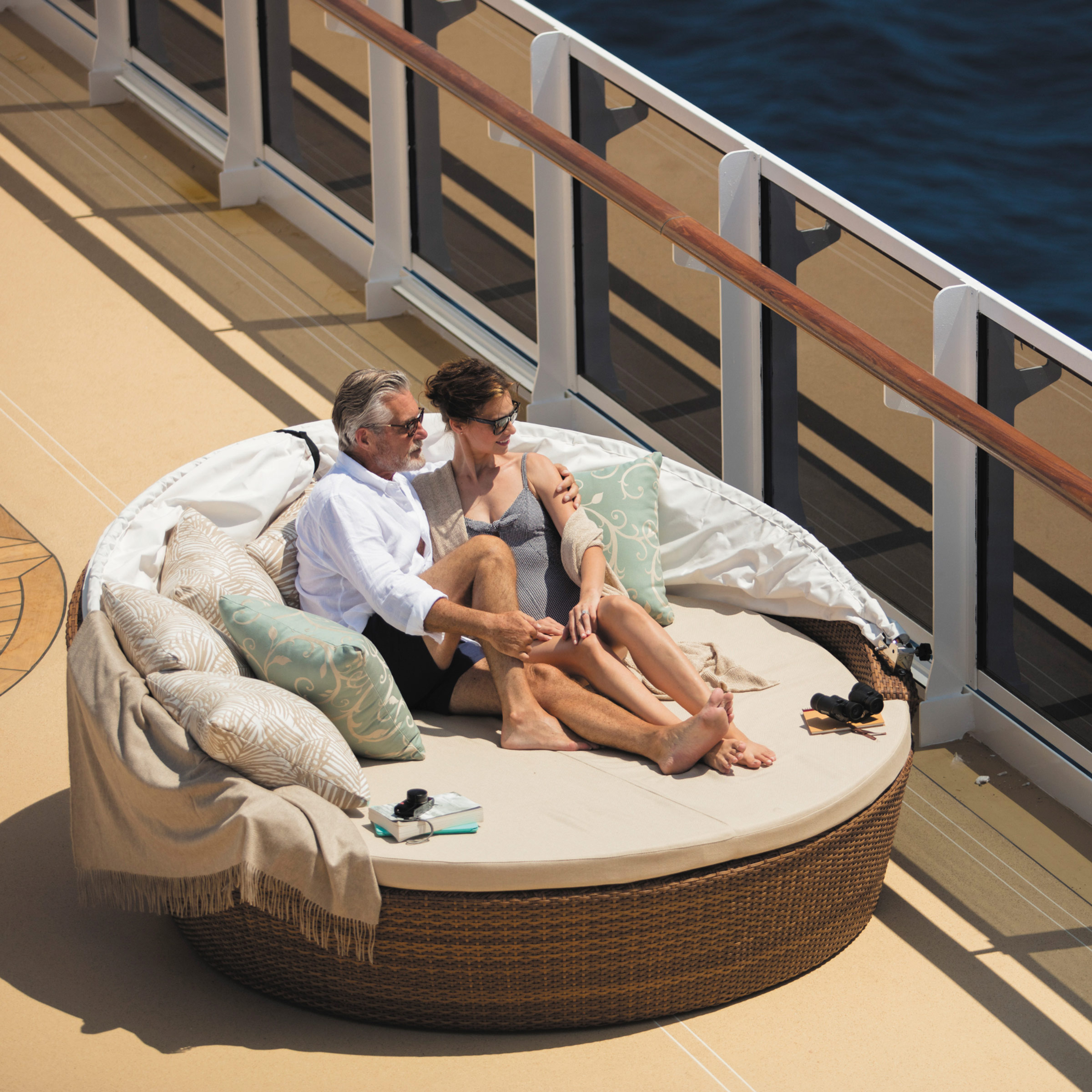 Luxury cruise ship Regent Seven Seas Explorer