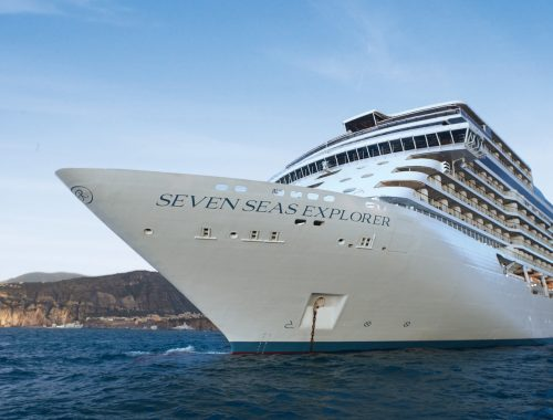 Luxury Cruise Ship Regent Seven Seas Explorer