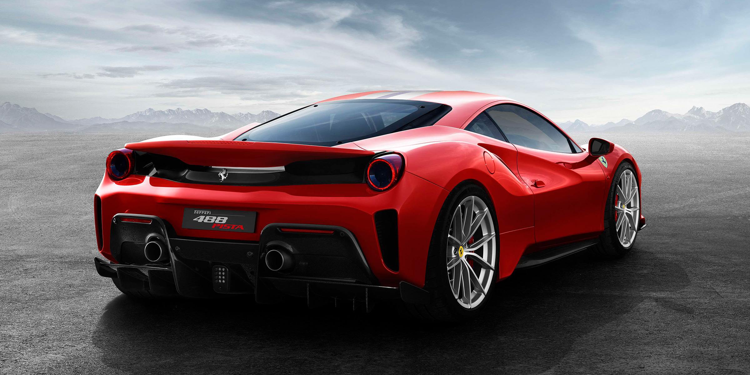2018 Ferrari Special Edition 488 Pista